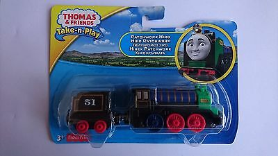 Thomas And Friends Patchwork Hiro Dgf79 Die Cast Take-N-Play New