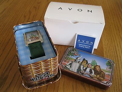 Avon Wizard Of Oz Emerald City Watch In Tin - Nib