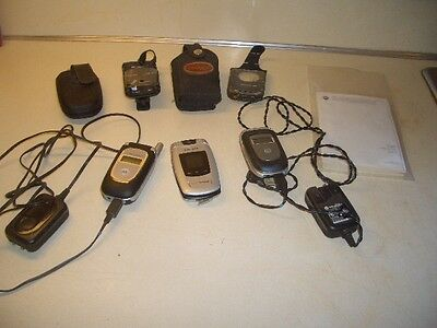 Cell Phone Lot of 3 Untested Cell Phones for Parts Or Repair Motorola Samsung