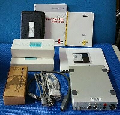 Ad Instruments PowerLab 410 Human Psychology Teaching System  Data Acquisition