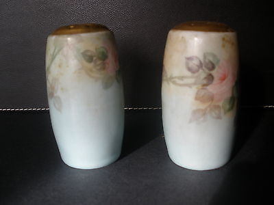 Two Antique Bavaria Salt and Pepper Shakers-(lot2)