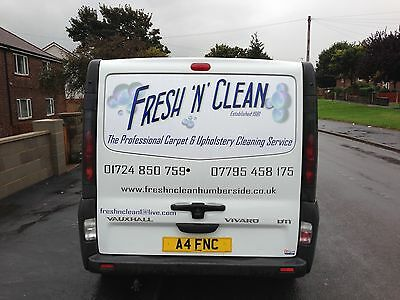 Carpet & Upholstery Cleaning Business