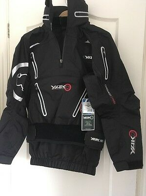 Yak Conquest Kayak Cag, Size Small, dry latex wrist seals, New Jacket