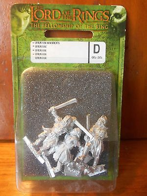 Urukhai Scouts Blister RARE lotr sbg lord of the rings warhammer miniatures