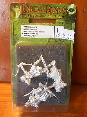 Urukhai Scouts Bows Blister RARE lotr sbg lord of the rings warhammer miniatures