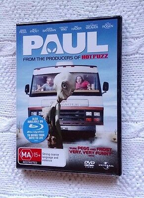 Paul (Dvd), Region: 2,4,5, New And Sealed, Free Shipping Within Australia