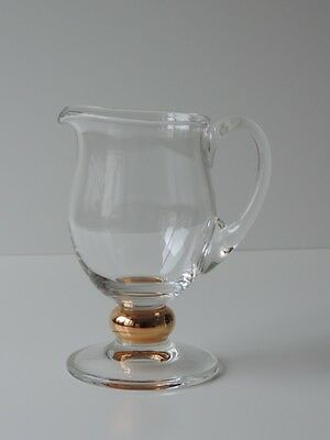 Krug  Fußkanne Kanne Glas  1,2 L  Glass Pitcher