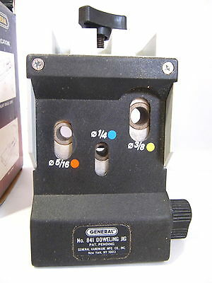 Doweling Jig Dial Setting #841 by General Tools made in France