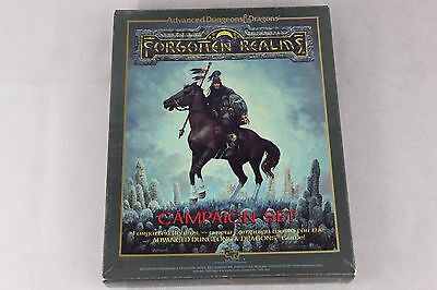Advanced Dungeons & Dragons - Forgotten Realms - Campaign Set - 1987