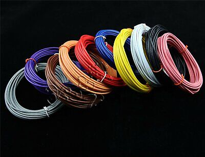 HOT Wire UL1007 Flexible 16AWG~30AWG Stranded Cable Cord Hook-up DIY Electrical