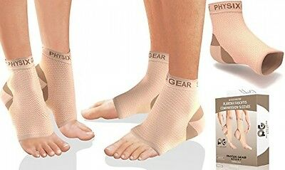 Plantar Fasciitis Socks With Arch Support, BEST 24/7 Foot Care Compression Than
