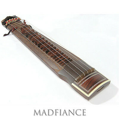 Geomungo Korean musical instrument with six strings six-stringed Korean zither