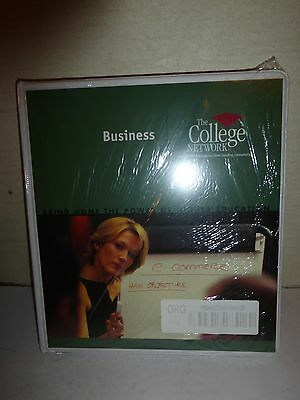 College Network General Studies Organizational Behavior 3 Ring Binder, Brand New