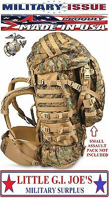 New Usmc Marine Issue Gen 2 Marpat Woodland Camo Ilbe Main Pack Complete
