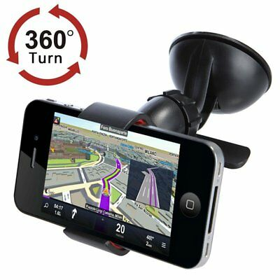 360° Mount Car Holder for iPhone 7 Plus 6 5 6S Universal Windshield Phone OP