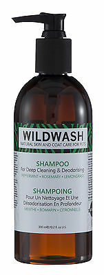 Wildwash Deep Clean and Deodorising Shampoo - Dog, Puppy, Cat