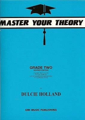 *NEW* MASTER YOUR THEORY Book by Dulcie Holland Grade 2