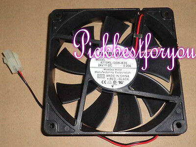 1Pcs NMB-MAT 4710KL-05W-B30 12025MM 24V 0.20A cooling fan #M4237 QL