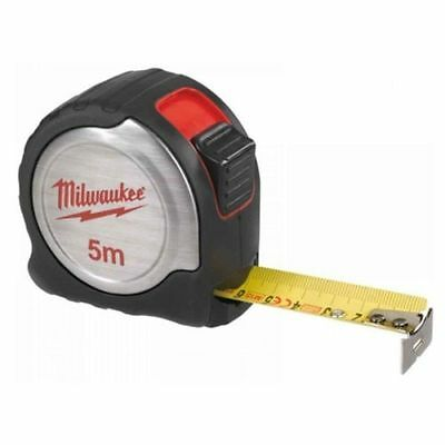 Milwaukee 4932451639 5 Meter Compact Tape Measure Silver C5/25 5m Metric New