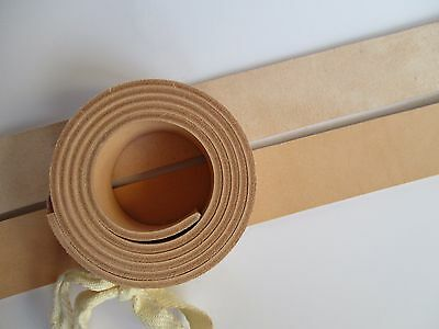 "9-10oz Veg Tanned Leather Belt Blank Strip. 51-55"" or 130-140cm. Various width"