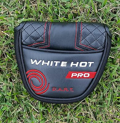 Odyssey White Hot Pro Mallet Putter Head Cover - Magnetic Closure *Brand New*