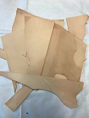 Natural Tooling Leather Off Cuts 1 Square Meter Full Grain Embossing Leather