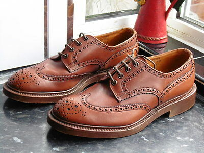 Men's Brown Trickers Keswick 7292 Shoes Size Uk 7