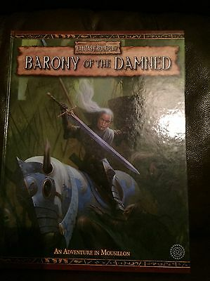 Barony of the Damned - Warhammer Fantasy Roleplay (WFRP) 2nd Edition