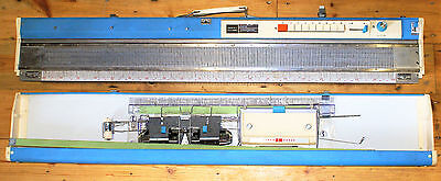 Vintage 1970s Brother Jones KH588  Knitting Machine with Tools and Manual VGC