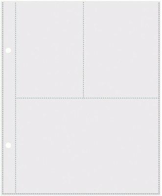 """Simple Stories Mix & Match 6""""x8"""" Page Protectors - 3""""x4"""" and 4""""x6"""" Pocket"""