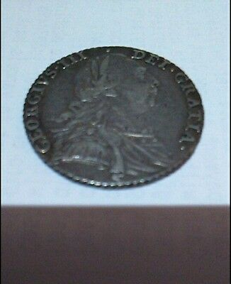 George 3rd shilling 1787 silver very good detail