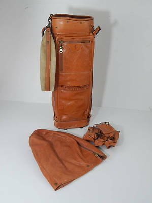 Original Ferrari Schedoni Leather Golf Carry Bag 250 308 328 Dino 365 Daytona