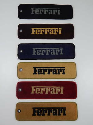 Original 1970/80s Ferrari Carpet Samples 246 Dino 330 365 308 328 Testarossa