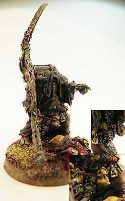 Chaos Space Marines: converted and painted Nurgle Sorcerer