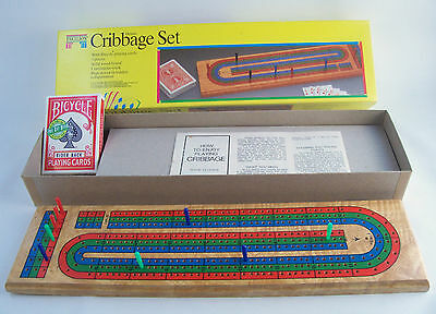 1992 Pavilion Deluxe Cribbage Set Bicycle, Boys & Girls