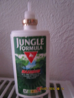 Jungle Formula Pump Spray Insect Repellent 75Ml/factor 4 Highest Used/no Lid!!!!