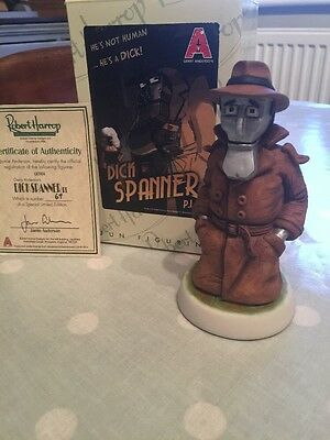 Robert Harrop Dick Spanner P.I. GER01 Gerry Anderson Ltd Edition Boxed And Cert.
