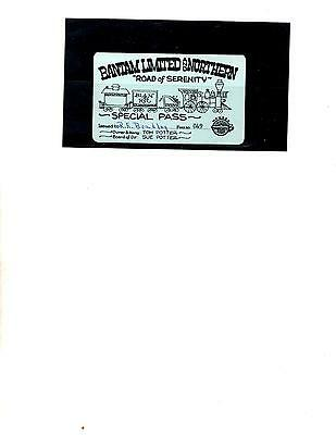 Bantam Limited And Northern Railroad Pass (Item 0061)