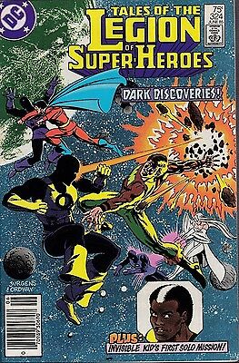 Tales Of The Legion Of Super Heroes  #324 Dc 1985