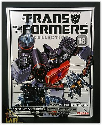 Transformers Takara Collection 18 G1 Soundblaster & Ravage Buzzsaw MIB COMPLETE