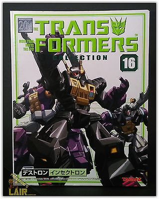 Transformers Takara Collection 16 G1 Insecticons Bombshell Kickback MIB COMPLETE