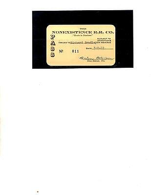 Nonexistance R.r. Company  Pass (Item 0021)