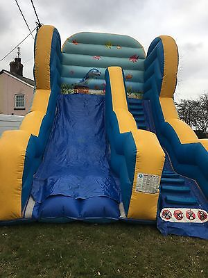 Inflatable Slide 10Ft Under The Sea
