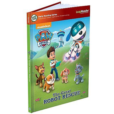 LeapFrog Leap Reader  Paw Patrol Book - Works with the LeapReader system