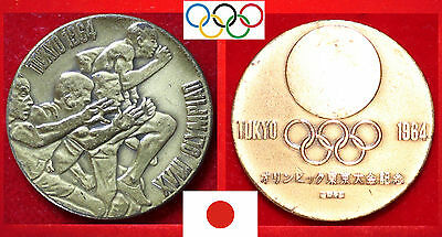 Olympische Spiele Olympic Games Medaille Medal Tokio Tokyo Japan Nippon 1964