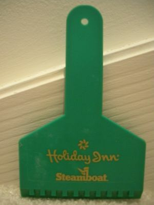 Ice Scraper Snow Remover - Holiday Inn Steamboat Springs CO - Promo Souvenir