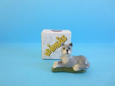 Wade Lying Cat Whimsies Set 8, 2006 *discontinued* Hard To Find W/box