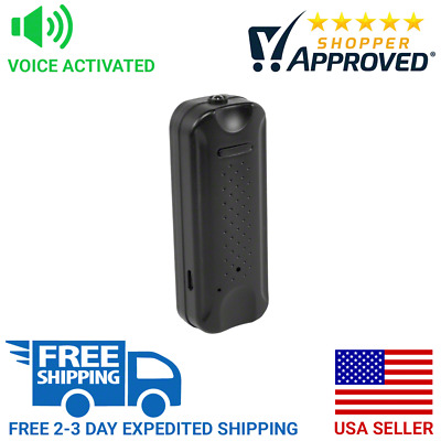 SpygearGadgets Voice Activated Miniature Spy Audio Recorder with Magnet Mount