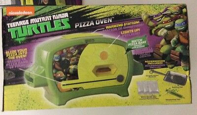 Teenage Mutant Ninja Turtles PIZZA OVEN NEW In box TMNT With 2 Extra Pizza Packs
