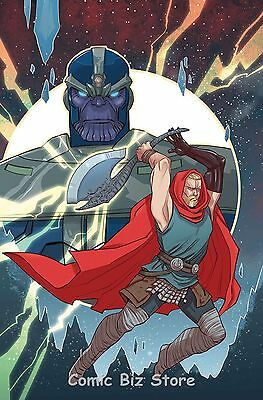 Unworthy Thor #4 (Of 5) (2017) 1St Printing Scarce 1:25 Sauvage Variant Cover